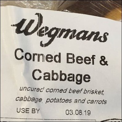 Irish Bangers vs Corned Beef and Cabbage