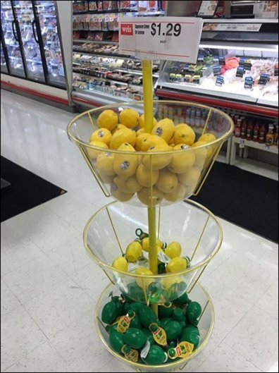 Lemon Lime Merchandising, Fresh and Squeezed