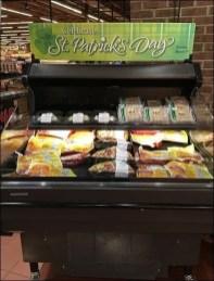 St. Patrick's Day Mobile Cooler Merchandising