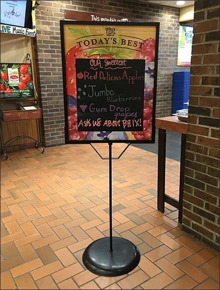Today's Best and Sweetest Entry Chalkboard