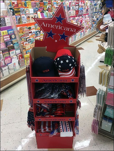 Americana for America's Birthday Display