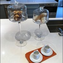 Cake and Coffee Props Kitchen Showroom Staging