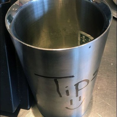 Chipotle Stainless Steel Tip Cup Entreaty