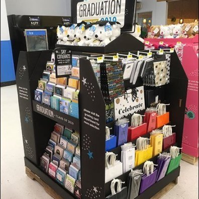 Congrats To Grads Island Display