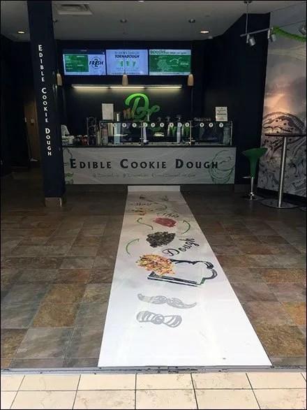 Dough Life Welcome Mat Runner Branding