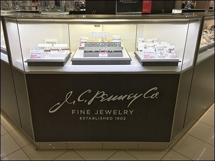Logo Branded Jewelry Cabinet