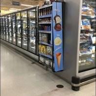 Ice Cream Toppings Cooler PowerWing Hangs