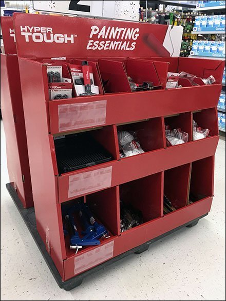 Hyper Tough Painting Essentials Pallet Display