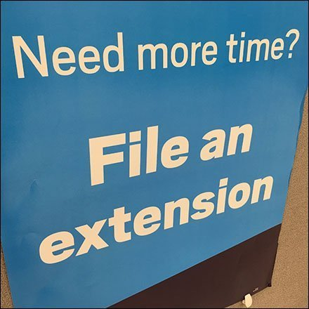 File For A Tax Deadline Extension Here
