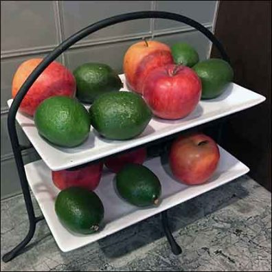Fruit Ripening Rack Kitchen Showroom Prop