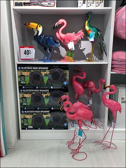 Pink Flamingo Flock Mass Merchandising