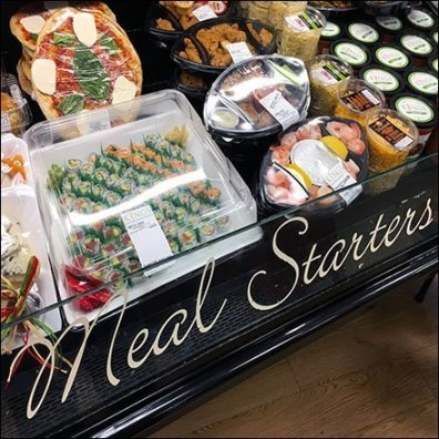 Meal Starters Cooler Sushi Banquet