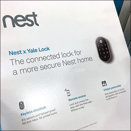 Nest Yale Lock Security Display