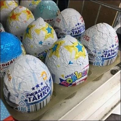 Non-Faberge Russian Eggs To Go