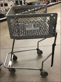 Pepboys Automotive Shopping Cart Concept