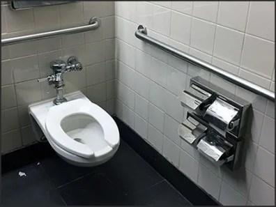 Generous Quad Toilet Paper Dispenser Outfitting