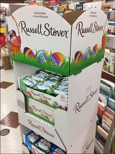 Russell Stover Easter Egg Corrugated Tower