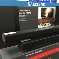 Samsung Theater Speaker Pallet Rack Promo