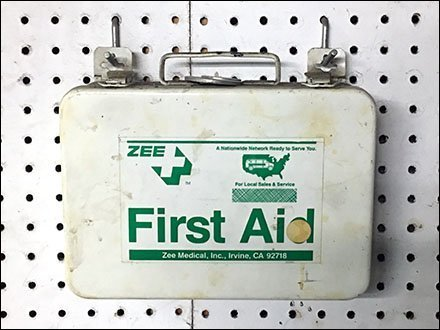 Single-Prong All-Wire Pin-Up Hook First Aid