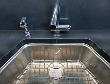 Sink For Display Only, No Waste Disposal