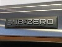 Sub-Zero Showroom Cooler Chilled Beverage Props