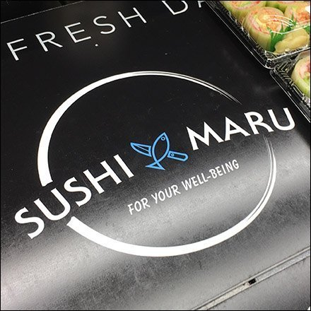 Sushi Maru Freshness Cooler Messaging Feature