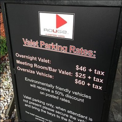 Eco-Friendly Discounted Valet Parking