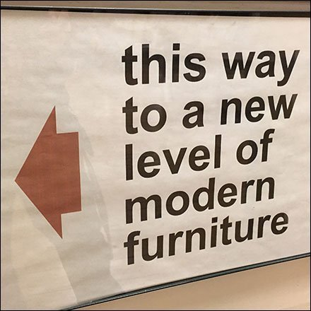 This Way To Modern Furniture Directional