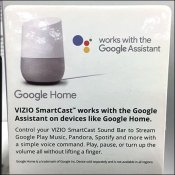 Vizio Smartcast Speaker Pallet Rack Promo