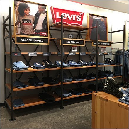 Levi's Jeans Department Well-Branded