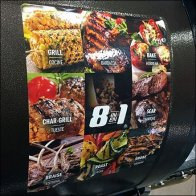 8-In-1 Grilling Capability Merchandising Feature