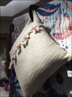 C-Clamp Pillow Visual Merchandising