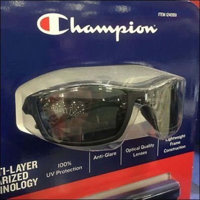 Champion Tethered Sunglass Sample Ledge
