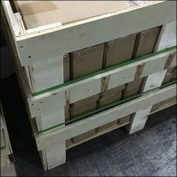 Wood-Framed Pallet Store Fixture Shipment