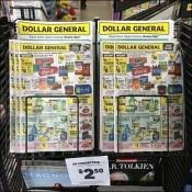 Store Discounts Flyer Tops Magazine Rack