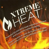 Extreme Heat Firepit Flame Promotion Prop