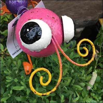 Retail Company Mascots - Garden Insect Visual Merchandising Hero