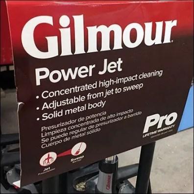 Gilmour PowerJet Wand Plastic Floor Stand