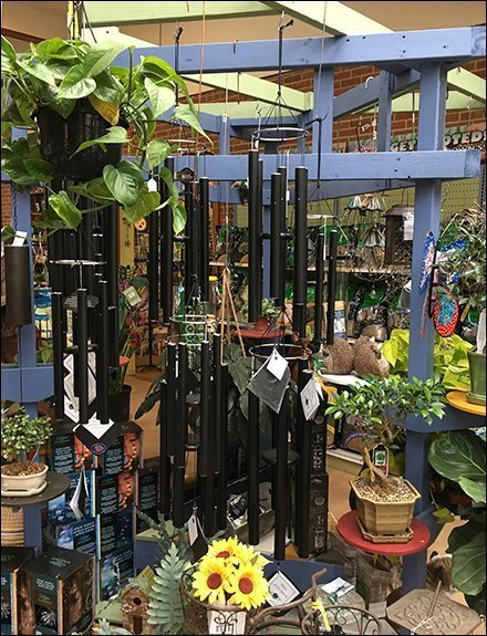 Wind Chime Indoor Pergola Wood Display