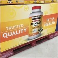 Kirkland Fish Oil Pallet Merchandising