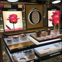 Lancome Skin Care Countertop Display