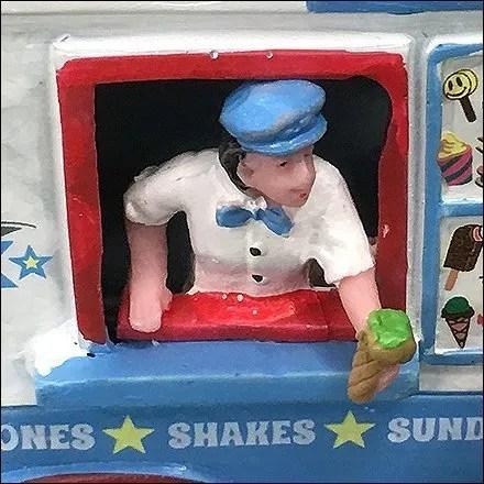 Mr. Frosty Ice Cream Truck Miniature