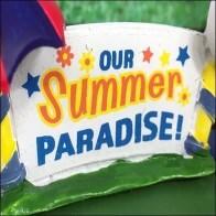 Lemax Summer Fun RV Trailer Aux