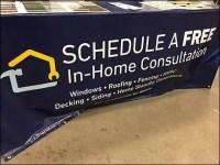 Comprehensive Home Repair Drape Display
