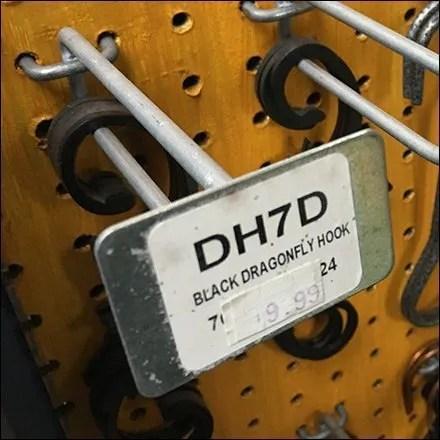 Metal Plate Scan Hook Hang Rod Retailing