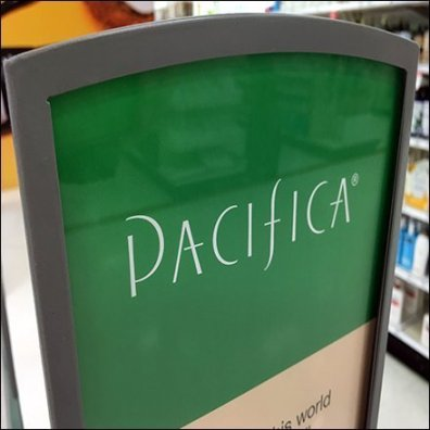 Pacifica Skincare Endcap Brand Definition