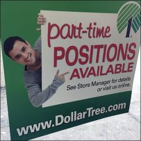 Now Hiring Part-Time Positions Available