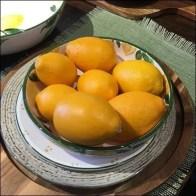 Fresh Lemons Prop Tableware Merchandising