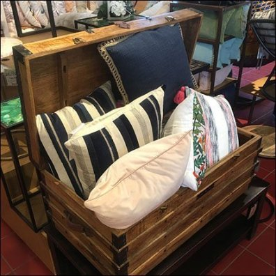 Wood Trunkload Pillow Proposition