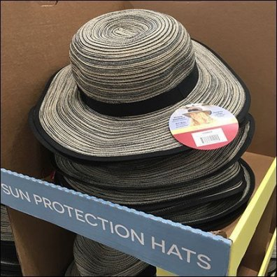 Sun Hat Solar Protection Pallet-load Sale